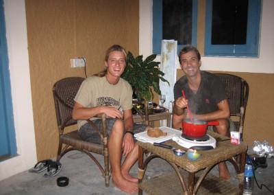 2008 fondue amongst friends