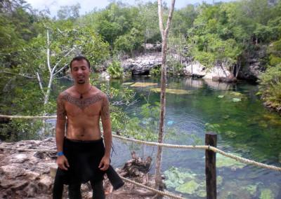 2009 diving mexico's cenotes